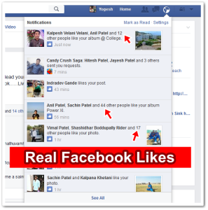 How to Get Genuine Facebook Likes on Post/Photo