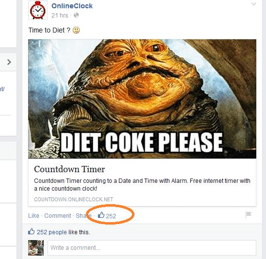 Fake Facebook Likes