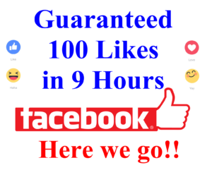 How to Get First 100 Facebook Likes Within 9 Hours