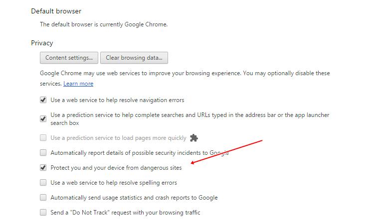 ByPass Deceptive Site Error