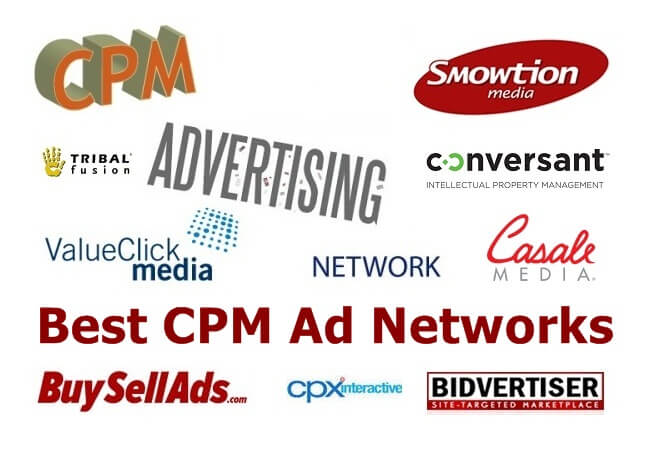 10 Best Cpm Ad Networks 2019 List Best Cpm Sites With High Ecpm Rates
