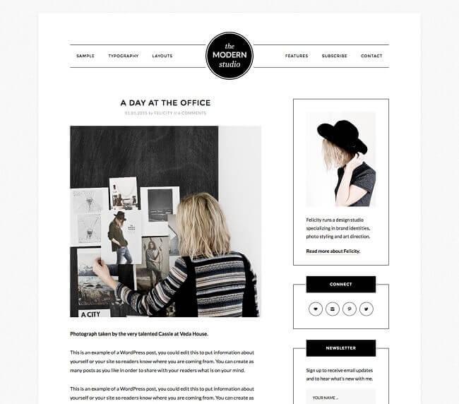 modern-studio-wordpress-theme