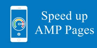 Speed up AMP pages