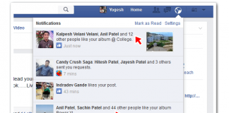 Facebook Likes History