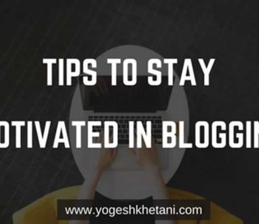 Blogging Motivation Tips