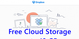 Dropbox Free Cloud Storage Space