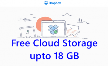 Dropbox Free Cloud Storage Space