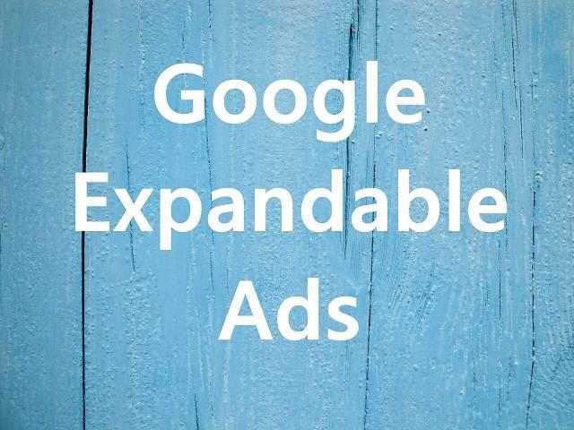 Google Adsense Expandable Ads