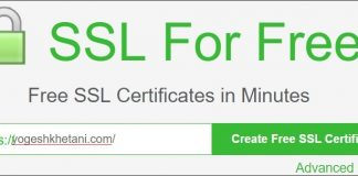 SSL for Free