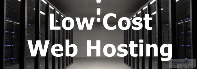 Low Cost Web Hosting