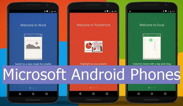 Microsoft Android Phones price list