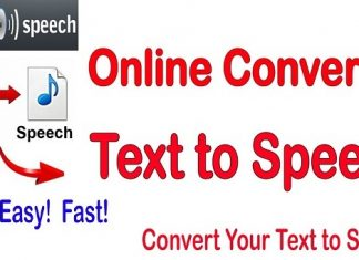 Tools to Convert Text to Speech Sites