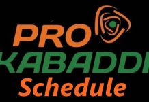 Pro Kabaddi schedule; PKL 2019 time table, PKL fixture, PKL time table, venues