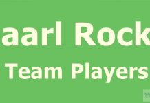 Paarl Rocks Team Players 2018 list, captain, squad,
