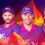 UAE T20X League schedule, fixture, time table, teams, squad