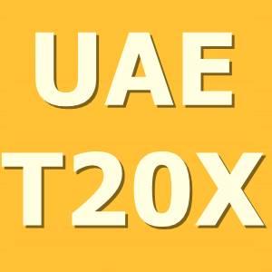 UAE T20X League Schedule, Fixture, Time Table, Teams, Squad - UAE T20X
