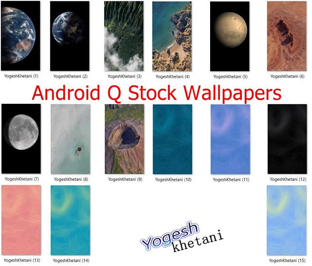 Android-Q-Stock-wallpapers