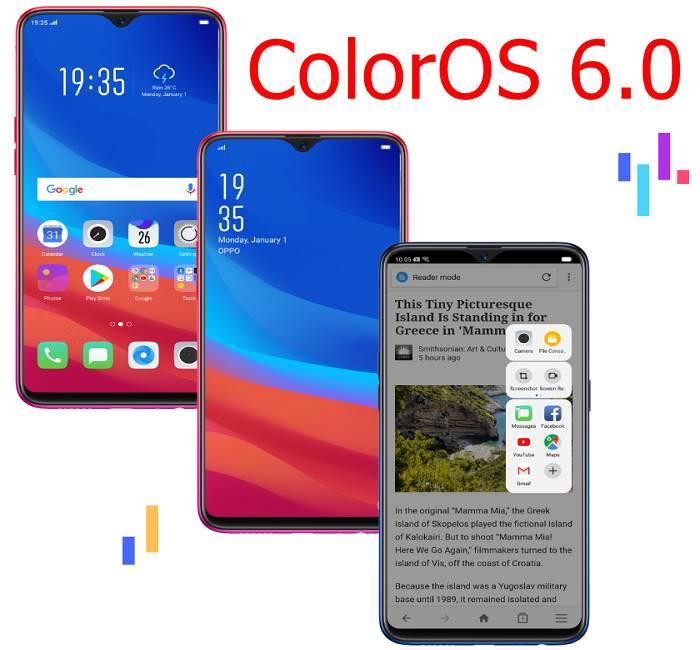 ColorOS 6.0 Android Pie upgrade
