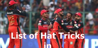 List of Hat tricks in IPL | IPL Hat tricks
