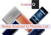 HMD Nokia Android Q phones list