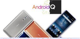 HMD Nokia Android Q phones list